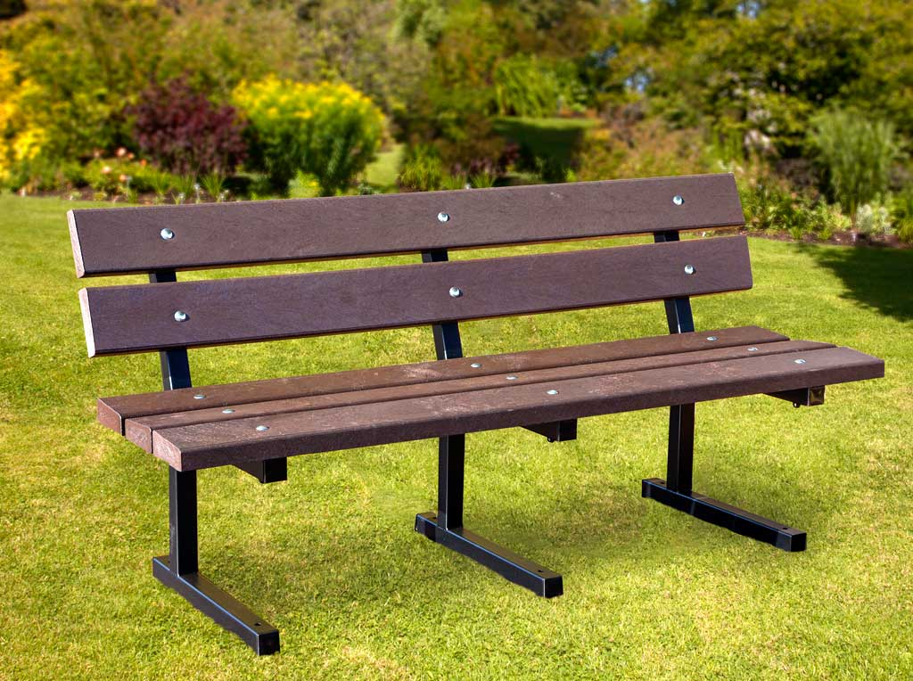 RCF metal frame bench
