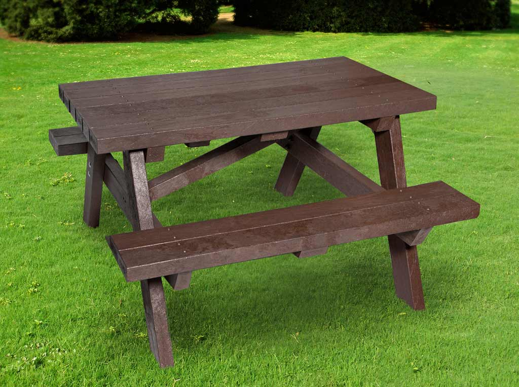 Adult picnic tables