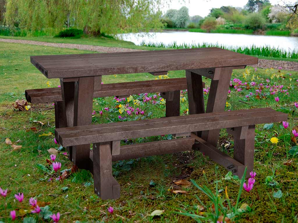 Recycled Composite Furniture Picnic Tables